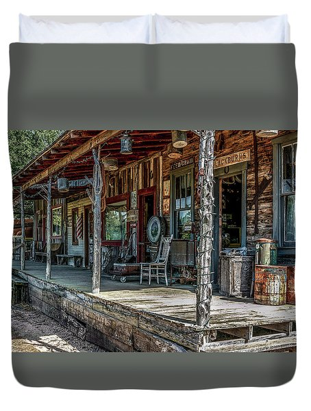 Store Front Duvet Cover by Doug Long