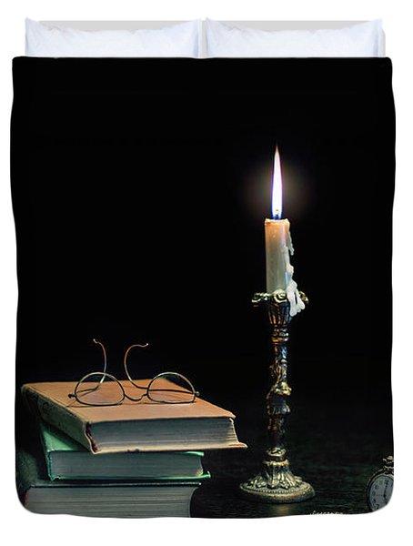 Stories In The Dark Duvet Cover