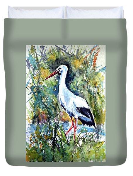 Stork Duvet Cover