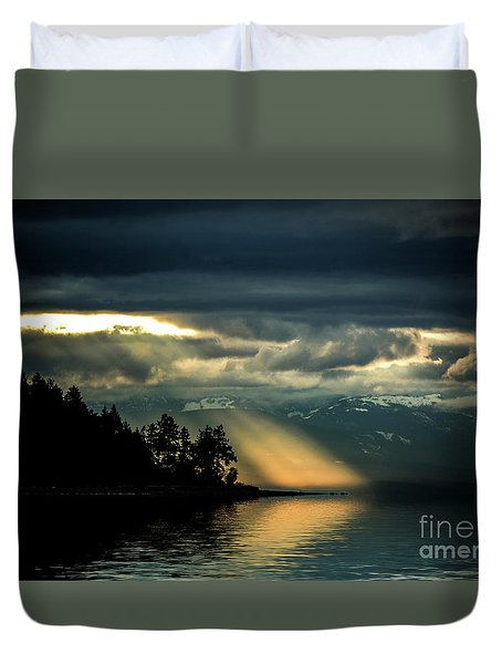 Storm 2 Duvet Cover by Elaine Hunter