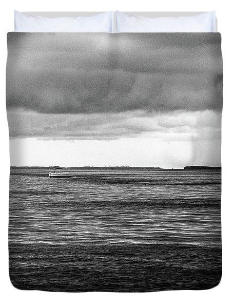 Storm Approaching Duvet Cover