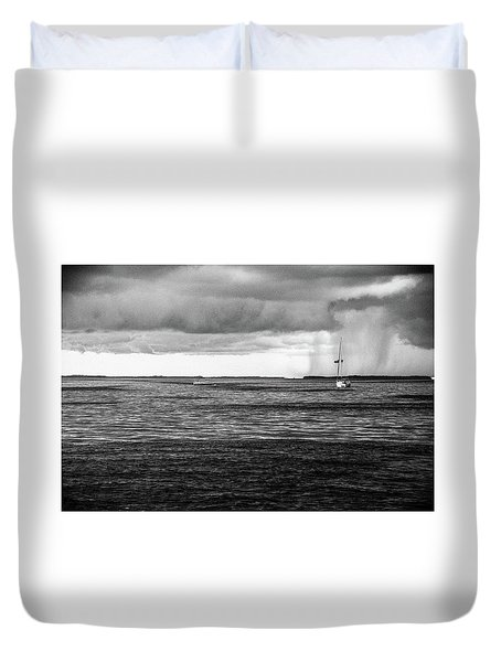 Storm Approaching Duvet Cover