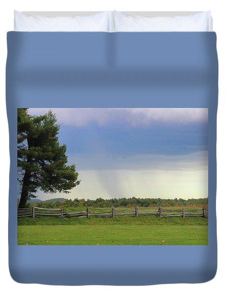 Storm At 258.6 Duvet Cover