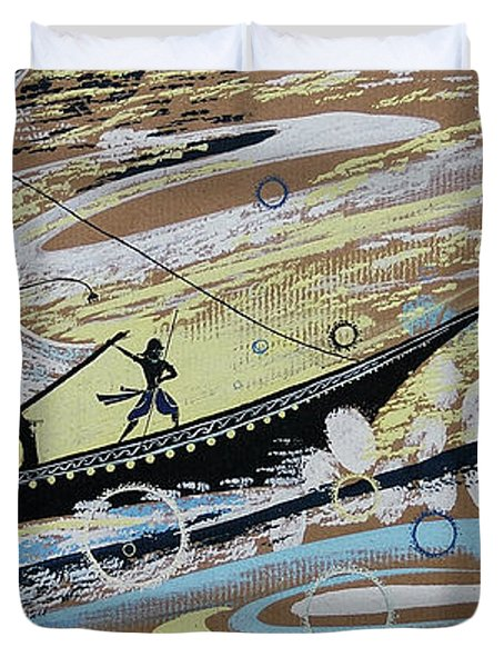 Storm At The Sea Duvet Cover
