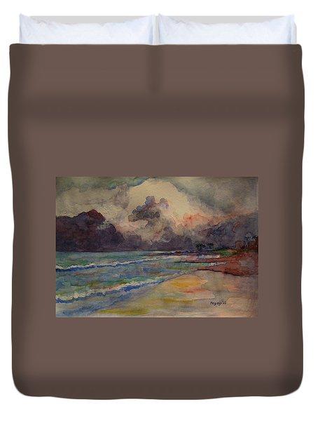 Storm Beach Duvet Cover