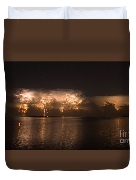 Storm Before Dawn Duvet Cover