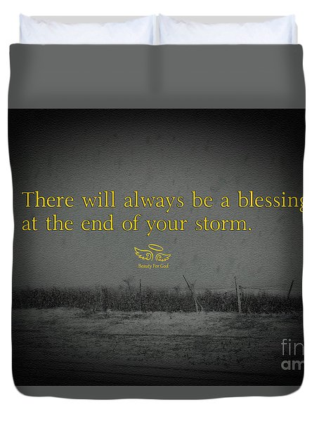 Storm Blessings Duvet Cover