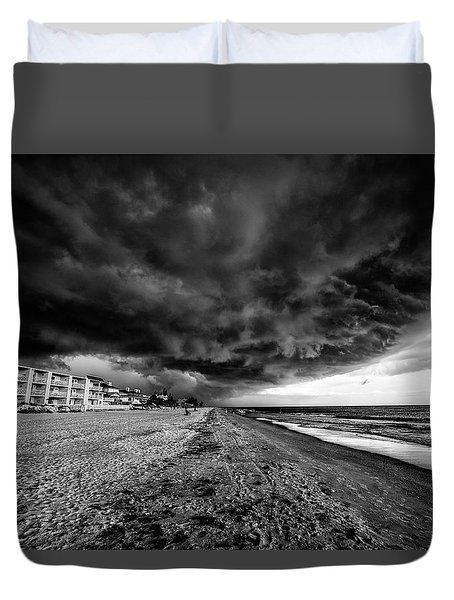 Storm Brewing Duvet Cover