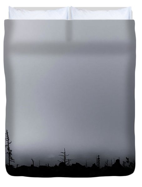 Duvet Cover featuring the photograph Storm by Cat Connor