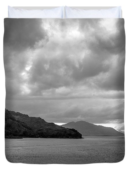 Storm On The Isle Of Skye, Scotland Duvet Cover