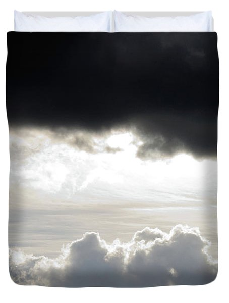 Storm Clouds 3 Duvet Cover by Andee Design