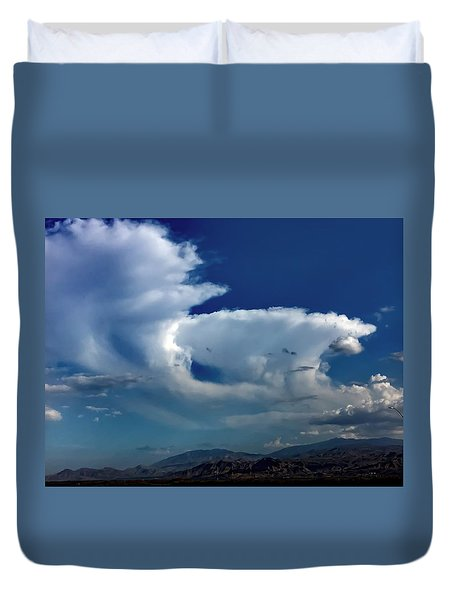 Storm Clouds Duvet Cover by Chris Tarpening