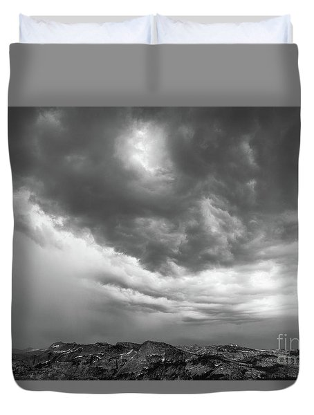 Storm Clouds IIi Duvet Cover by Sharon Seaward