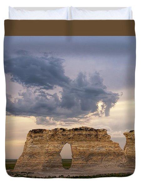 Storm Dragon Duvet Cover