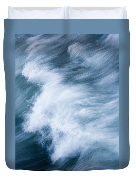 Storm Driven Duvet Cover by Mike  Dawson