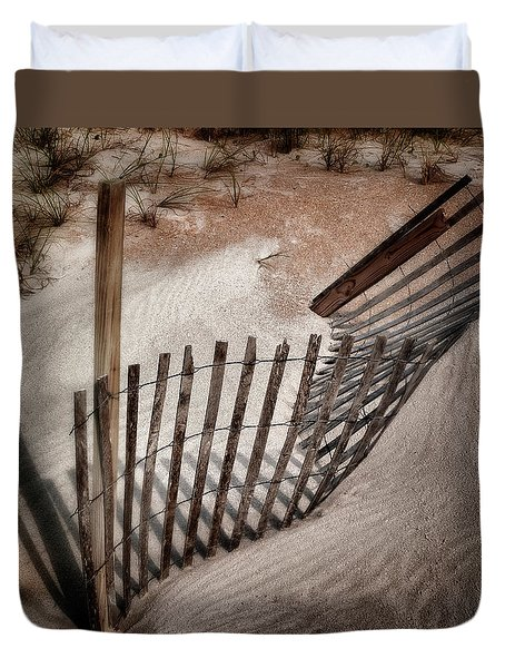 Storm Fence Series No. 2 Duvet Cover