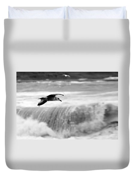 Storm Flight Duvet Cover