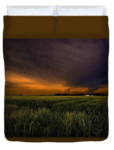 Storm Front  Duvet Cover