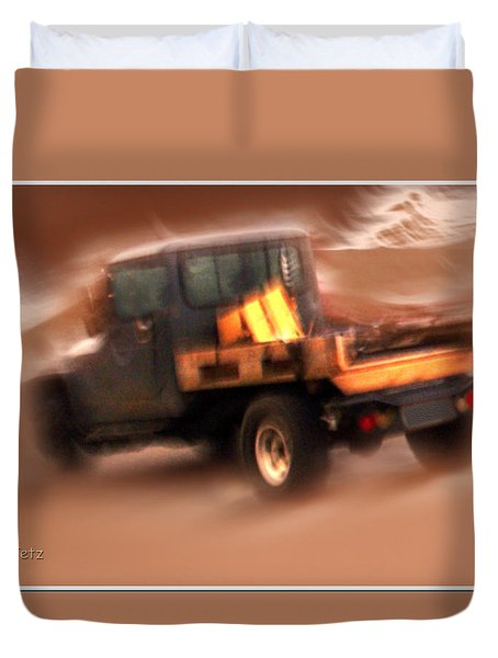 Still Truckin' Duvet Cover