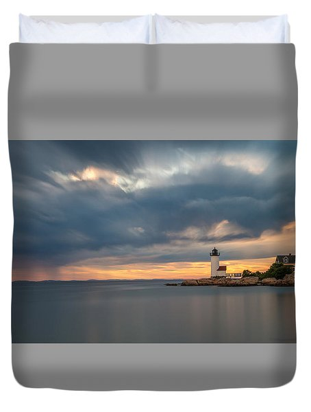 Storm Heading Out Duvet Cover
