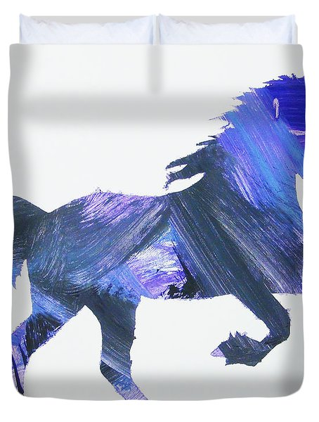 Storm Horse Duvet Cover