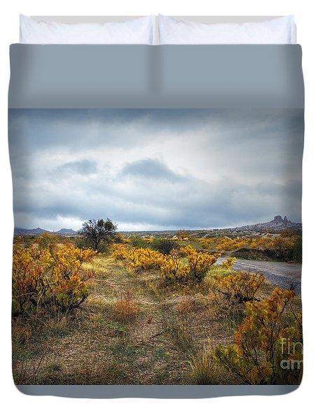 Storm In Cappadocia Duvet Cover by Yuri Santin