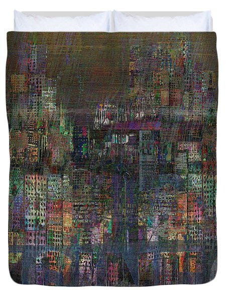 Storm In The City  Duvet Cover by Andy  Mercer