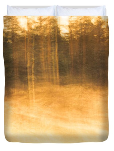 Storm In The Forest Duvet Cover