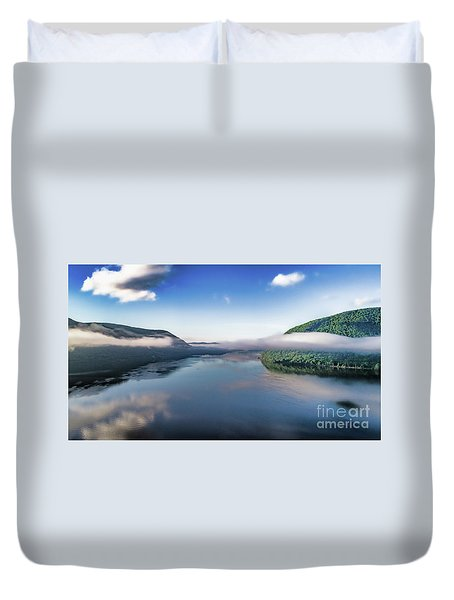 Storm King And The Highlands Duvet Cover