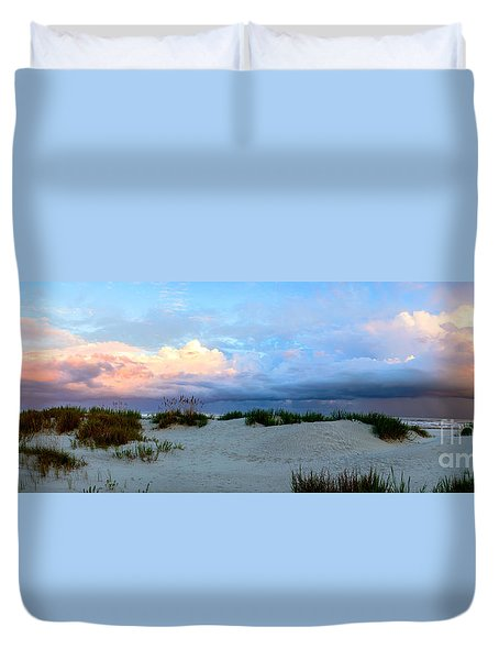 Storm Of Pastels Duvet Cover