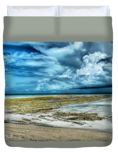 Storm Over Yamacraw Duvet Cover