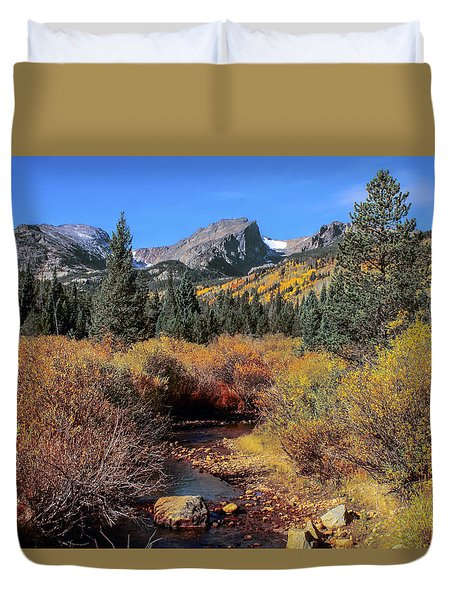 Storm Pass Trail Duvet Cover