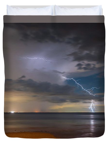 Storm Tension Duvet Cover