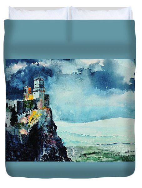 Storm The Castle Duvet Cover