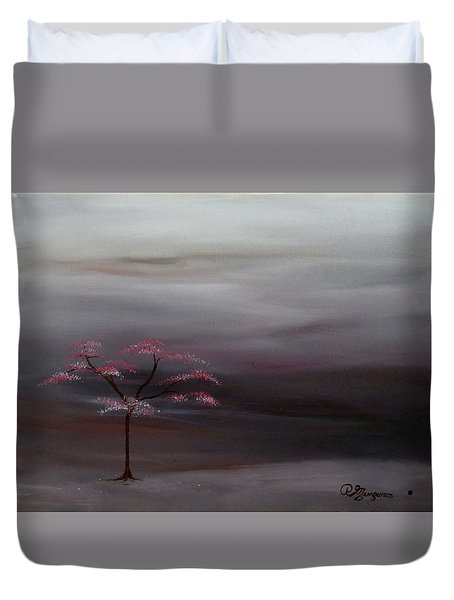 Storm Tree Duvet Cover by Robert Marquiss