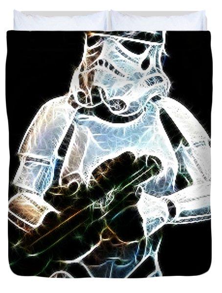 Storm Trooper Duvet Cover by Paul Ward
