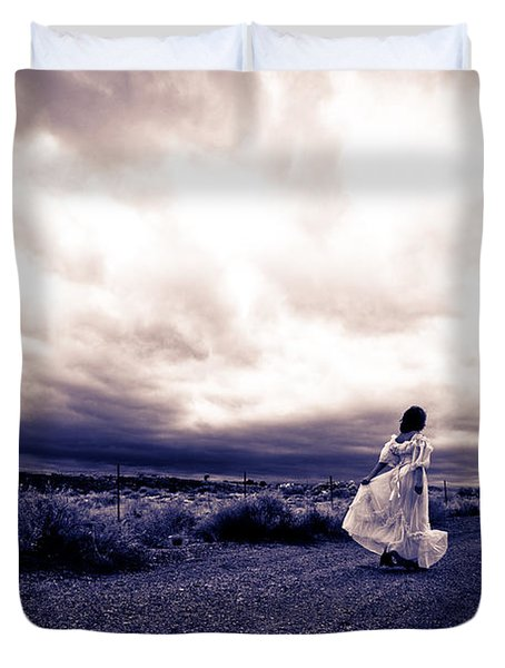 Storm Walk Duvet Cover
