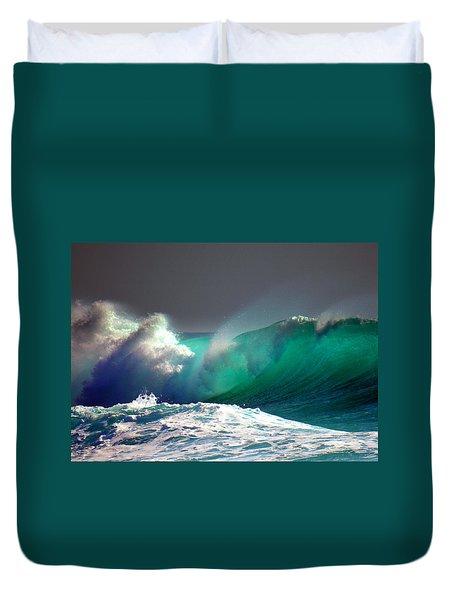 Storm Wave Duvet Cover