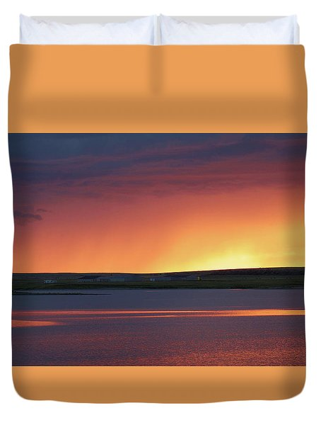 Stormclouds After Dark Duvet Cover