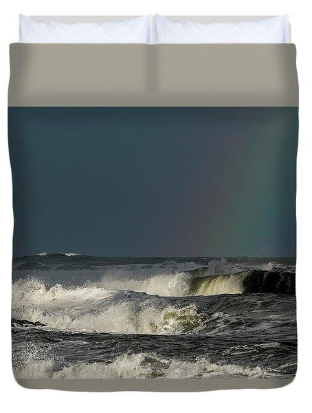 Stormlight Seaside Cove Duvet Cover