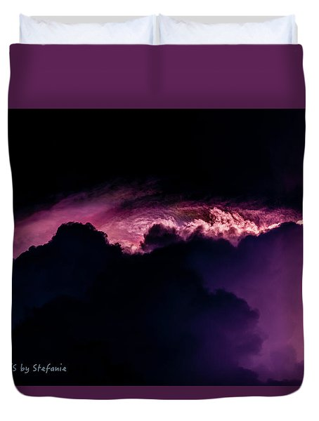 Storms Acomin' Duvet Cover