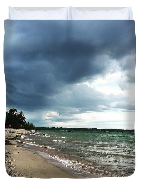 Storms Duvet Cover