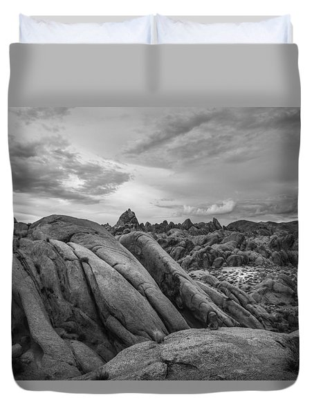 Stormy Afternoon At Alabama Hills Duvet Cover
