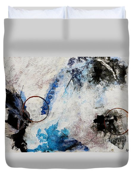 Stormy Bird Duvet Cover