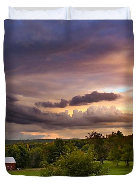 Stormy Clouds Duvet Cover