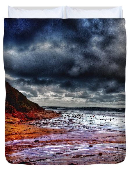 Stormy Day Duvet Cover by Blair Stuart