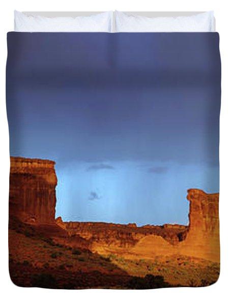 Stormy Desert Duvet Cover