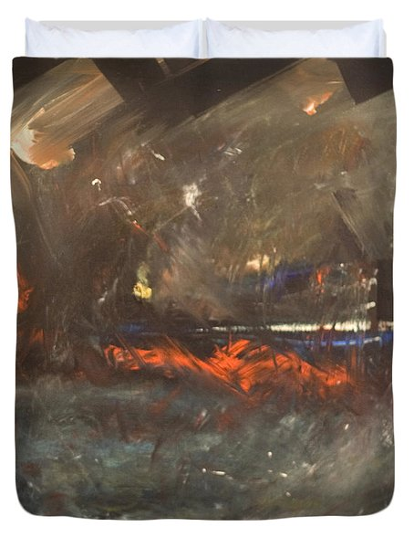 Stormy Monday Duvet Cover by Tim Nyberg