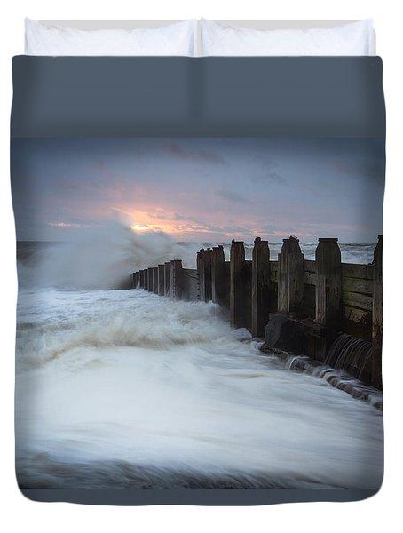 Stormy Morning Duvet Cover