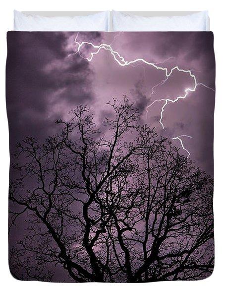 Stormy Night Duvet Cover